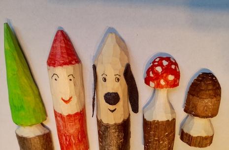 Snitteworkshop for børn med ledsagelse af en voksen ved Frank Egholm