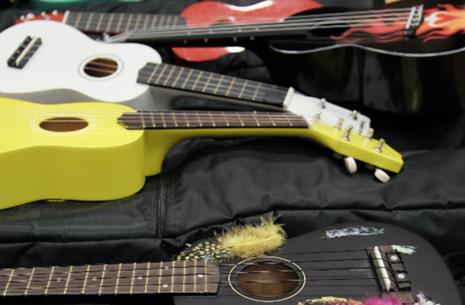 Feriesjov i skolesommerferien - Guitar/Ukulele/ Bas Fra 4. klasse for Egedal skolebørn