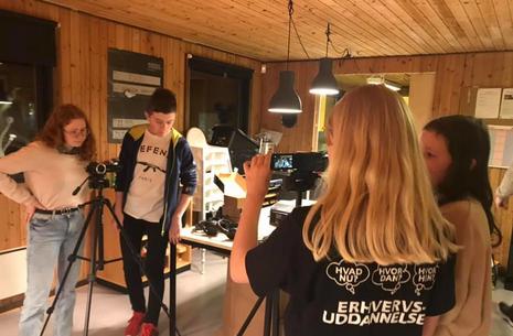 Feriesjov i skolesommerferien - You Tube værksted 12-17 år for Egedal skolebørn