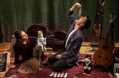 Teatergruppen Batida opfører Verdens mindste historie