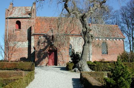 Gudstjeneste: Pinsedag i Slagslunde Kirke ved Malene Buus Graeser og fløjtenist Elise Busch-Madsen